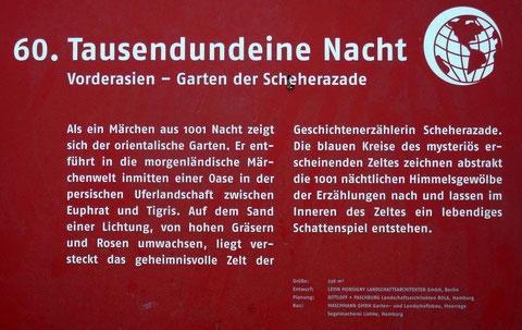 60. Tausendundeine Nacht  Vorderasien - Garten der Scheherazade