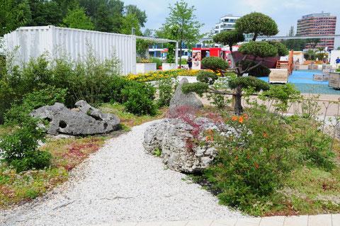 """Der Lochsteingarten """"Taihu"""" zitiert chinesische Gartenbaukunst"""