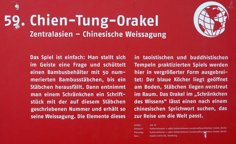 59. Chien-Tung-Orakel  Zentralasien - Chinesische Weissagung