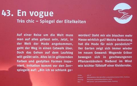 43. En Vogue  Tres chic - Spiegel der Eitelkeiten