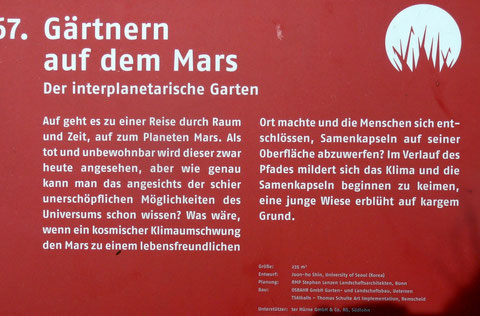 67. Gärtnern auf dem Mars  Der interplanetarische Garten