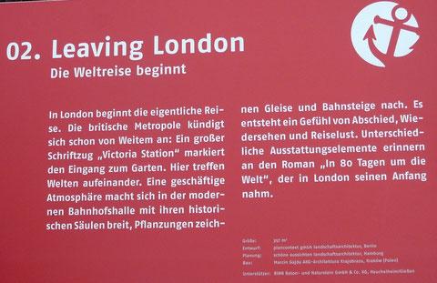 Leaving London - Die Weltreise beginnt