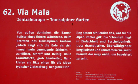 Via Mala Zentraleuropa - Transalpiner Garten