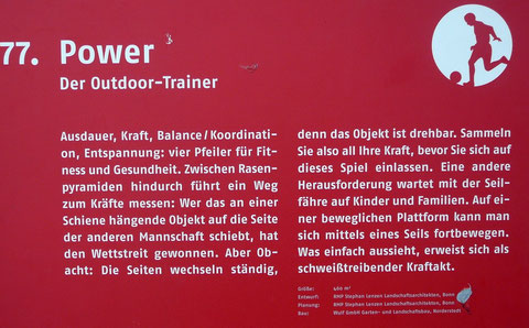 77. Power  Der Outdoor-Trainer