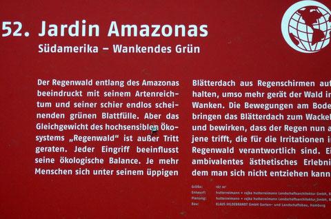 52. Jardin Amazonas  Südamerika - Wankendes Grün