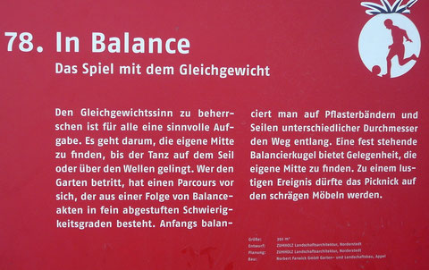 78. In Balance  Das Spiel mit dem Gleichgewicht