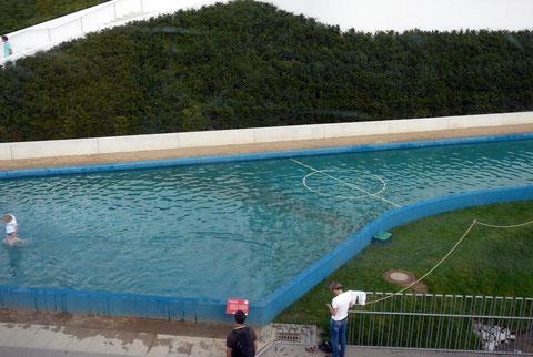 Aqua-Soccer Spielfeld