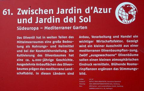 61. Zwischen Jardin d'Azur und Jardin del Sol  Südeuropa - Mediterraner Garten