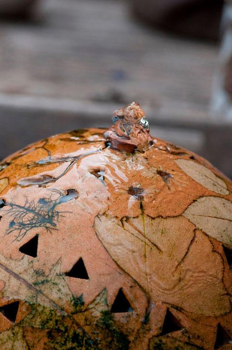 Keramik-Wasserspiel