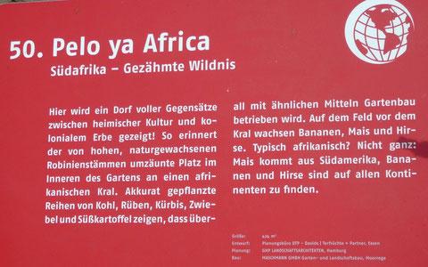 50. Pelo ya Africa  Südafrika - Gezähmte Wildnis