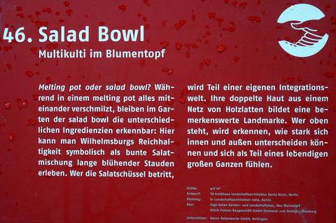 46. Salad Bowl  Multikulti im Blumentopf