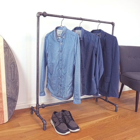 Garderobe Rohre The Upcycle Store