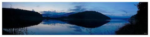 Schluchsee - Panorama mit 7 Bildern - Dez. 2013