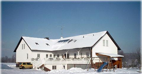 Vierbruckmühle im Winter