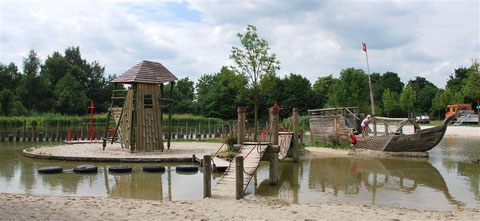Piratenspielplatz Amberg