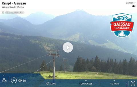 Webcam Gaissau / Hintersee -> auf Foto klicken!