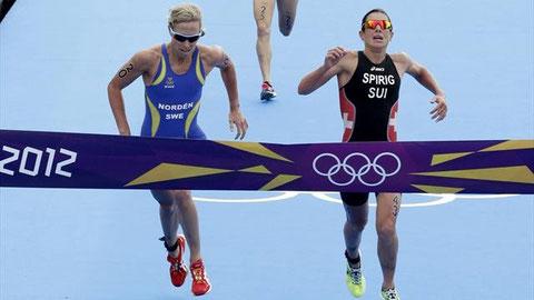 Triathlon Entscheidung London 2012