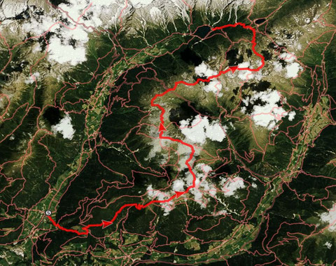 11-cime-tour da Rasun di Sopra al Lago di Anterselva