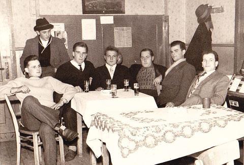 Dieses Foto entstand nur wenige Stunden vor der Gründung des FSV in der Gaststätte Berling