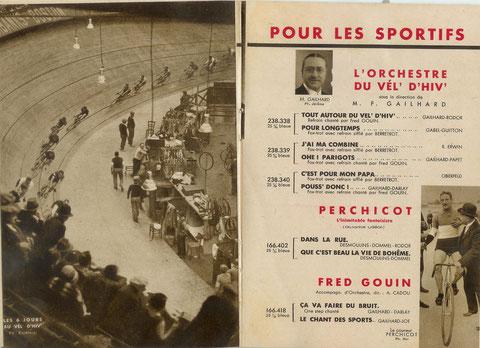 Supplément Odéon - avril 1931