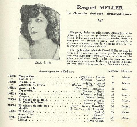 Extrait du catalogue général du 1er mars 1930