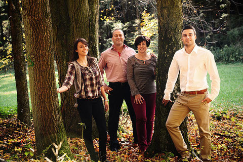Walter, Petra, Nadin und Markus