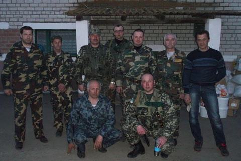 Продовольчу допомогу прикордонникам на Херсонщину доставили члени Хмельницької обласної організації ветеранів Афганістану