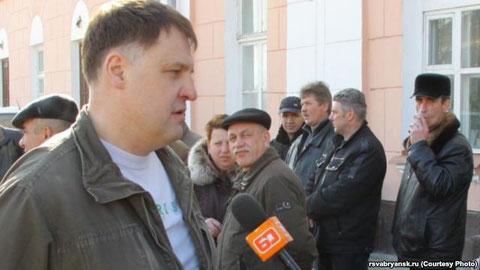 Владимир Барабанов - ветеран Афганистана, участник акций протеста против российской агрессии в Украине