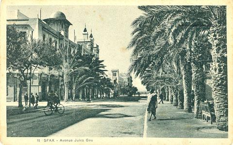 avenue Jules Gau
