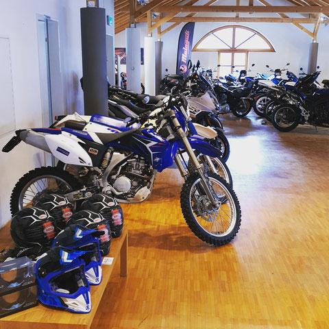 Ausstellung Occasion Motorräder