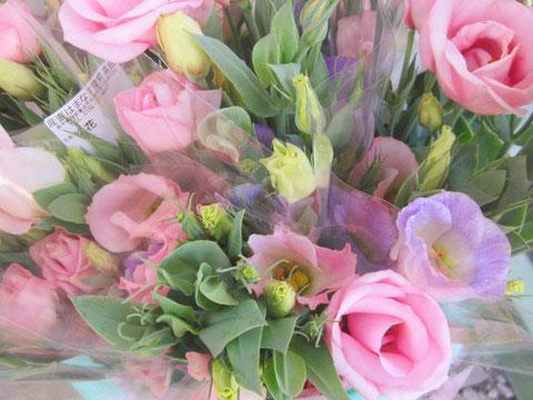 ↑切り花も届けられます。綺麗ですね