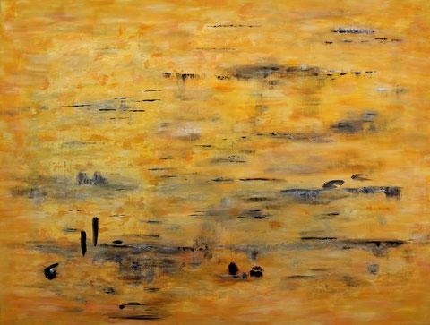 ohne Titel  2017   Acryl auf Leinwand   130 x 170 cm