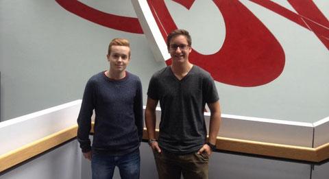Jannik Wirth (links) und Ingo Hasenbach (rechts)