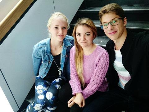 Pauline Kossmann, Sarah Krause, Johannes Strohm