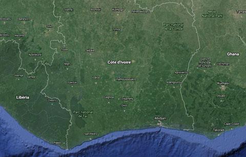 Crédits photos : Google Earth