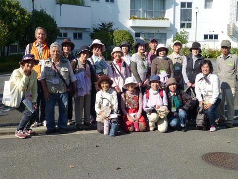 川井地域ケアプラザさんの記念写真