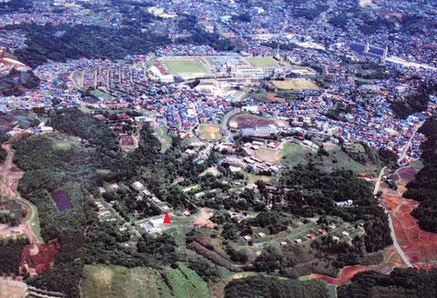 日本カーリットの移転前の全景