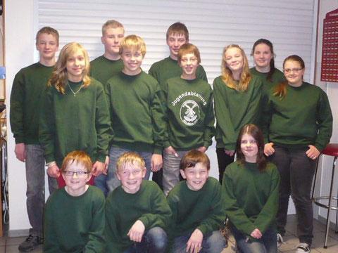 Sweatshirts für die Jugendabteilung 2013