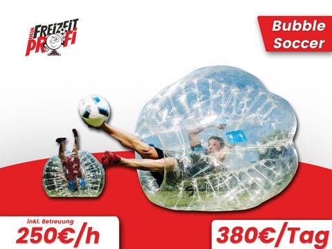 Bubble Soccer mieten - Eventmodule von Dein Freizeitprofi in Ludwigsburg.