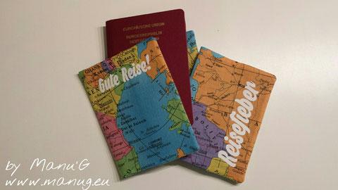 Reisepasshülle ohne Name 10 € - mit Name 12 €