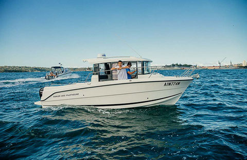 Parker 800 Pilothouse