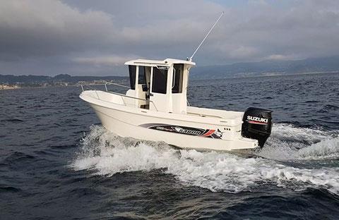 Sabor 600 Fisher Cabin