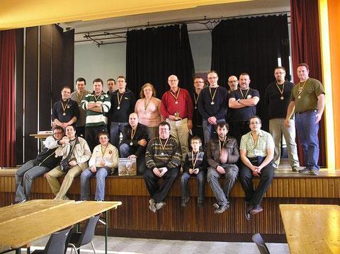 """Les participants du tournoi """"Mémoire44"""""""