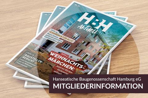 Neue Projekte: HBHaktuell August 2020, Hanseatische Baugenossenschaft Hamburg