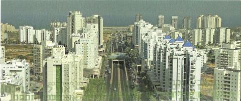 Quartier de LA CITY à Ashdod