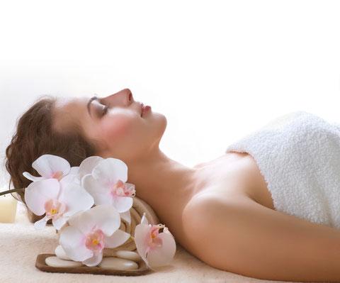 In der Ruhe liegt die Kraft - nach einer perfekten Massage in der Wellnessoase Hummelhofbad in linz / Bindermichl