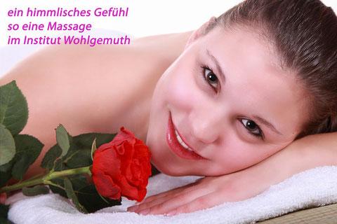 nach der Klassischen Massage im Institut Wohlgemuth in Linz fühlt sich jedermann rund um wieder wohl