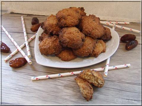 recette rapide petits gateaux flocon avoine datte