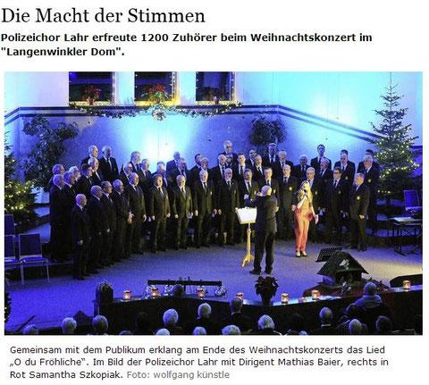 Badische Zeitung 22.12.2015
