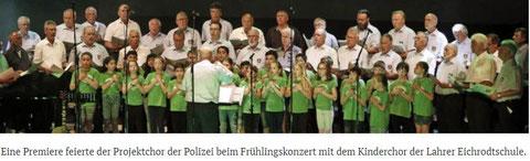Fühlingskonzert PSV Chor   aus der BZ am 14.05.2018